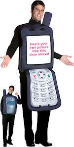 Mobile Phone Costume