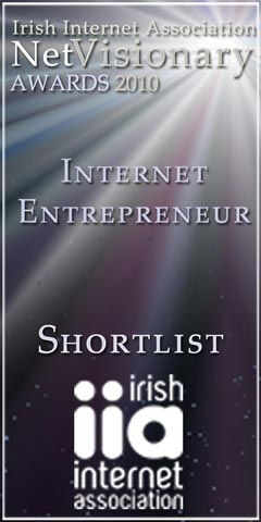 Internet Entrepreneur of The Year 2010