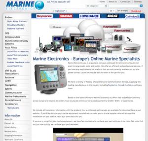 Marine Electronics Website